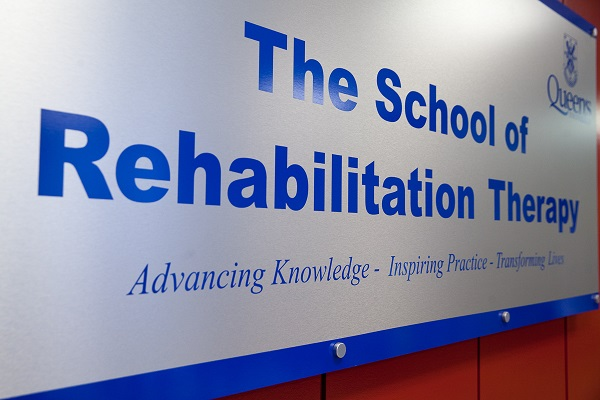 Image of School of Rehabilitation Therapy Banner