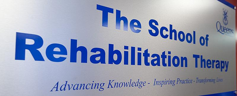 The School of Rehabilitation Therapy at Queen's University