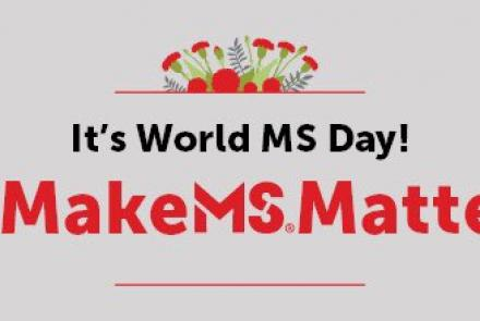 It's World MS Day Banner